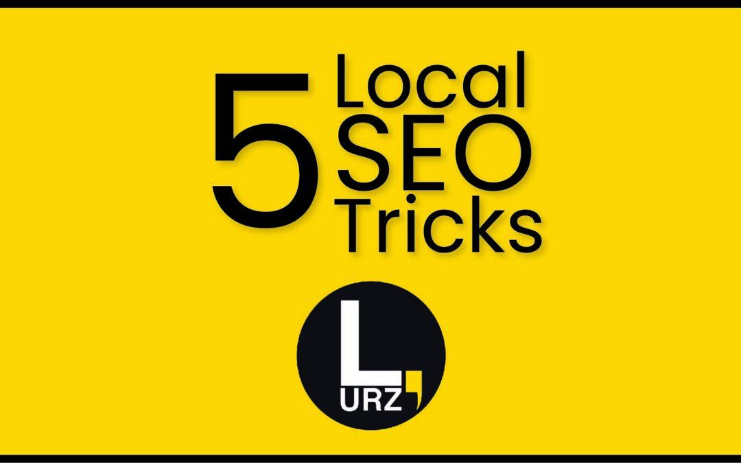 5 Tricks om je local SEO beter in te richten